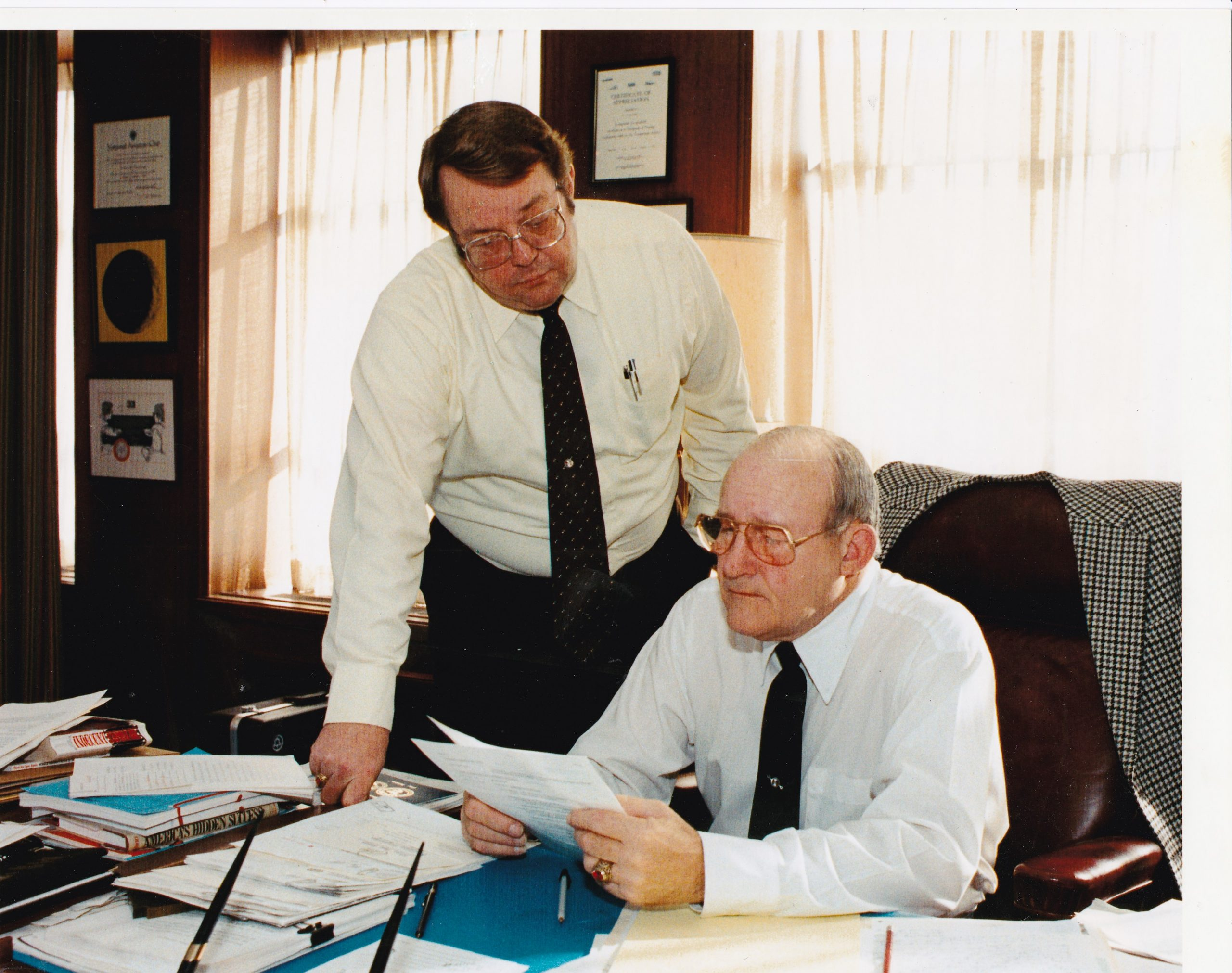 International President William Winpisinger and GST Don Wharton 002