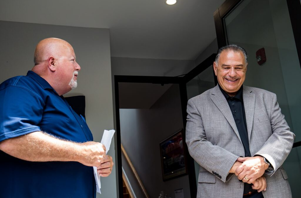 GVP Conigliaro Honored with District 15 Building Dedication